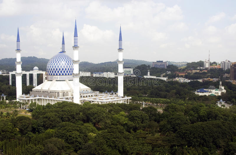 Mosque in Malaysia stock image