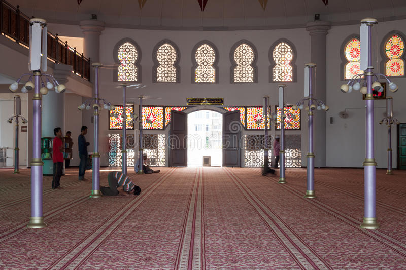 Download Mosque in Malaysia editorial photography. Image of floating - 30870472