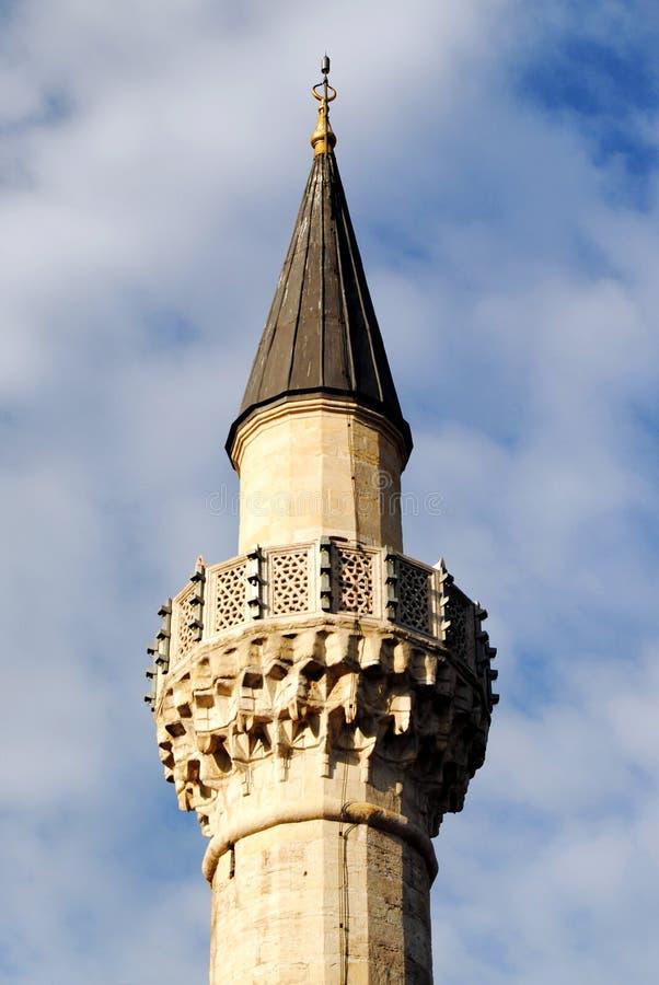 Download Mosque Minaret stock photo. Image of crescent, cloud - 26563222