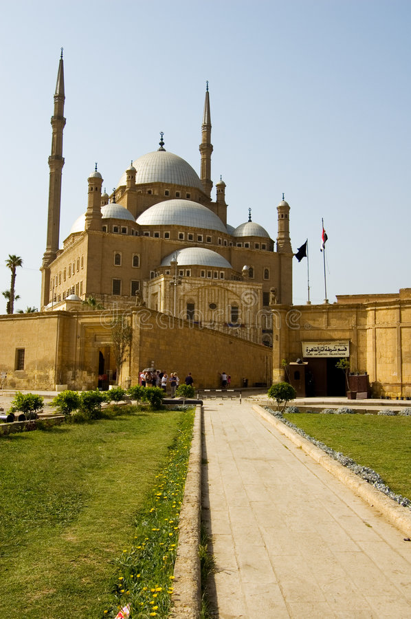 Mosque of Mohamad Ali royalty free stock image