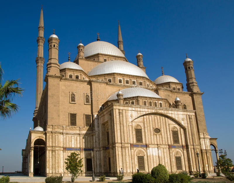 The Mosque of Muhammad Ali Pasha stock images