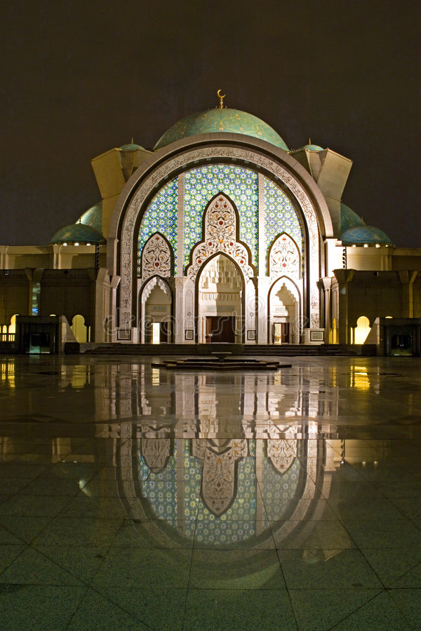 Download Mosque at Night stock image. Image of muslim, religion - 4076217