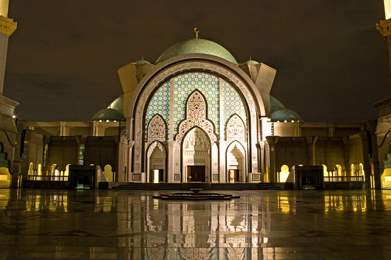 Download Mosque at Night stock image. Image of religious, prayer - 4149075