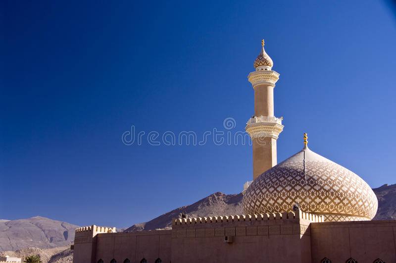 Mosque, Nizwa stock photography