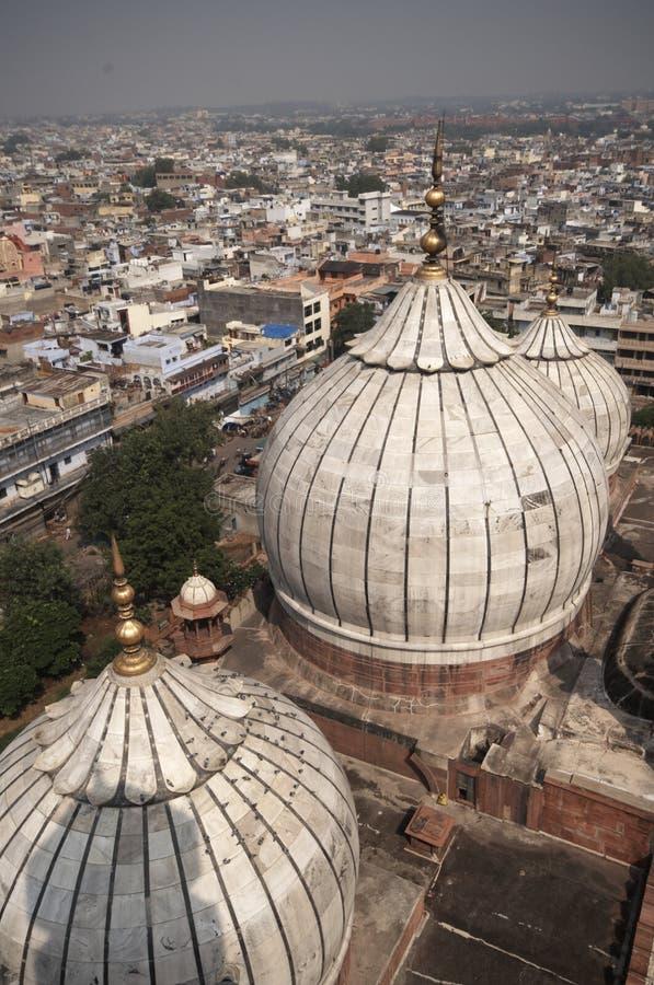 Mosque of Old Delhi stock photos