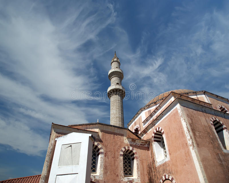 Download Mosque In Old Town, Rhodes, Greece Stock Photo - Image: 31352676
