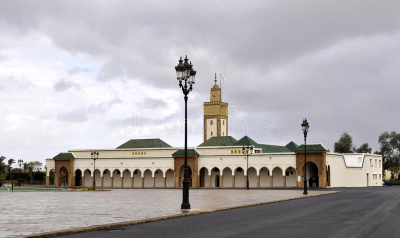 Download MOSQUE OF THE ROYAL PALACE IN RABAT Stock Image - Image: 25506623