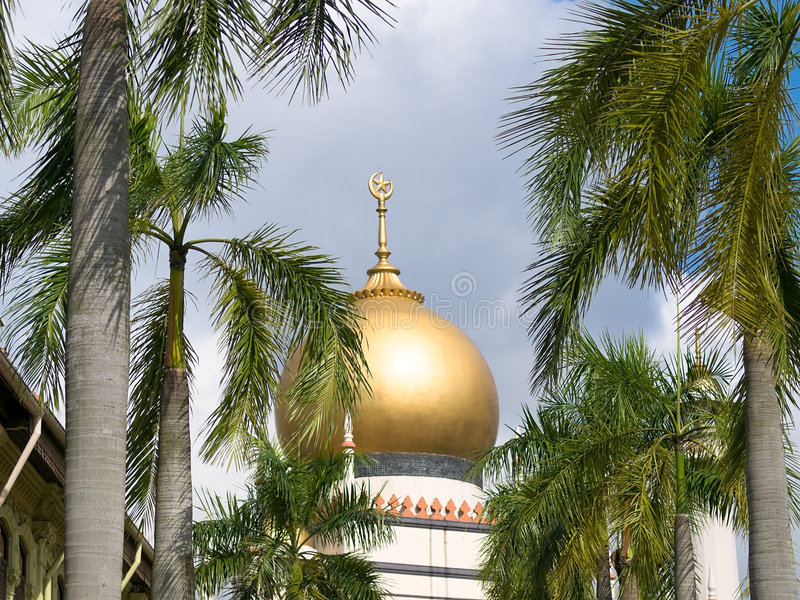 Mosque's Dome stock image