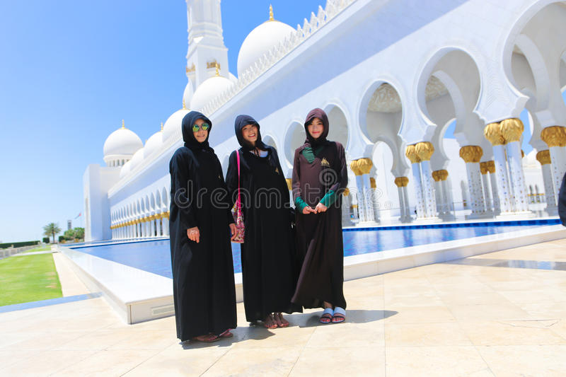 Mosque - Shaiekh Zayed stock images