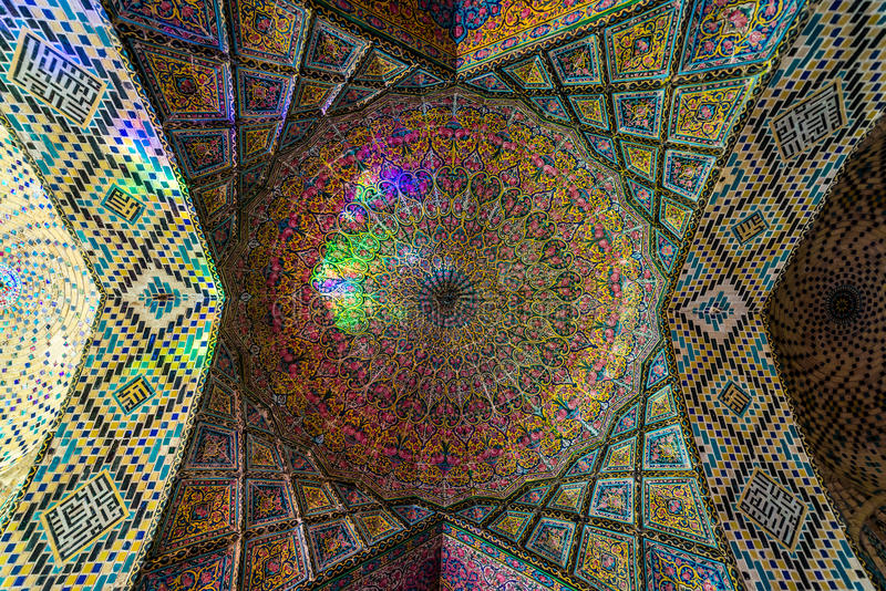 Mosque in Shiraz stock images