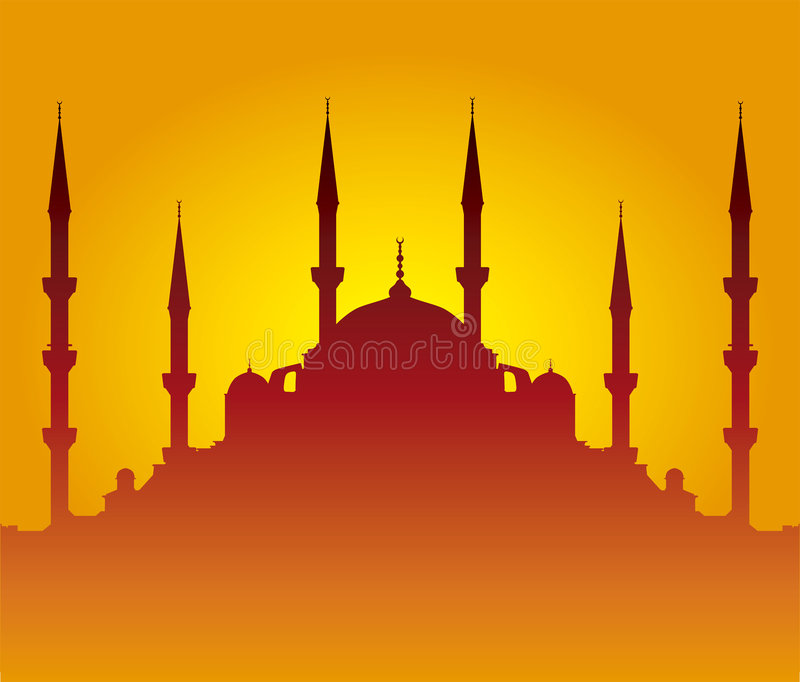 Download Mosque Silhouette Stock Photography - Image: 2322182