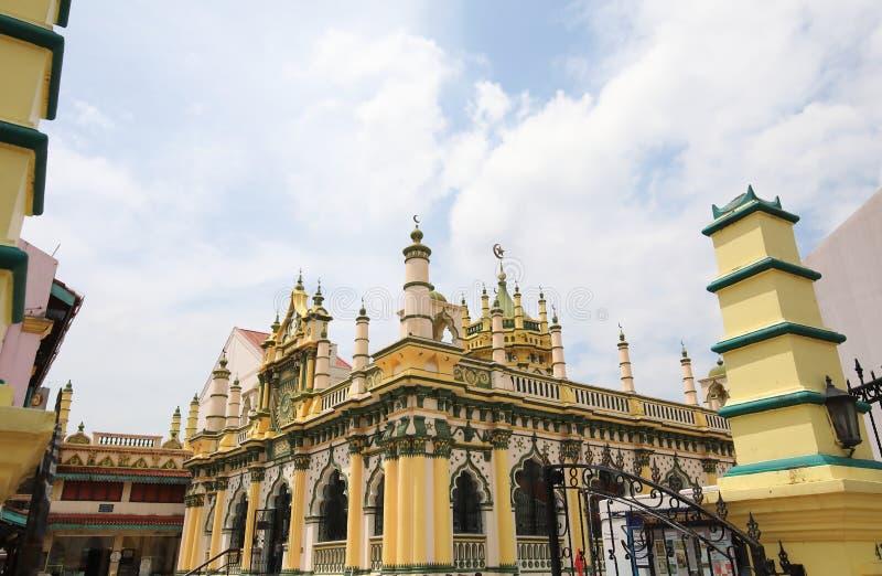 Mosque Singapore. Abdul Gafoor Mosque in Singapore stock photo