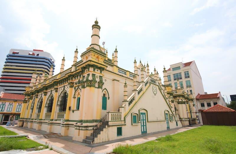 Mosque Singapore. Abdul Gafoor Mosque in Singapore stock image