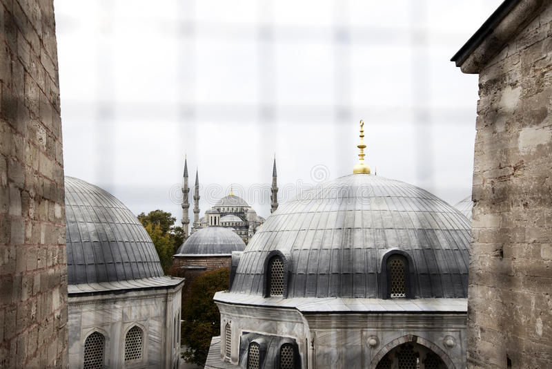 Download Mosque Skyline (window View) Stock Photo - Image: 28030046