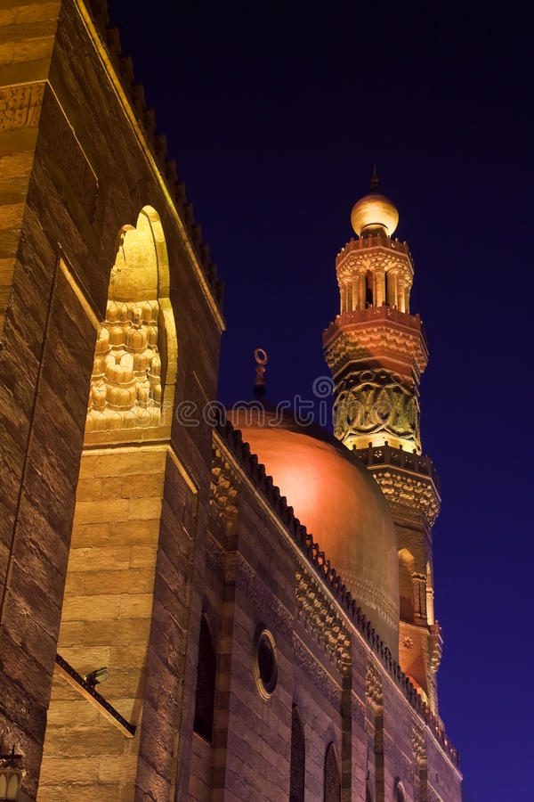 Mosque of Sultan Barquq royalty free stock image