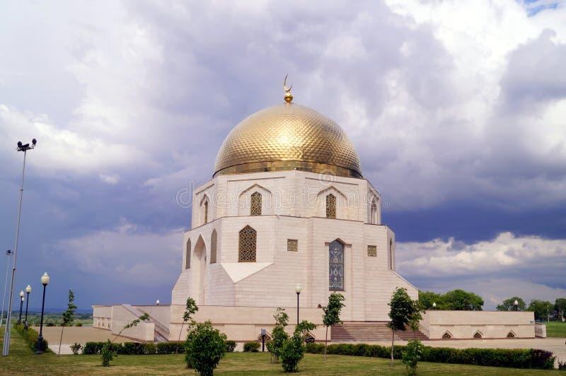 Mosque in Tatarstan Bulgar muslim regious building royalty free stock images