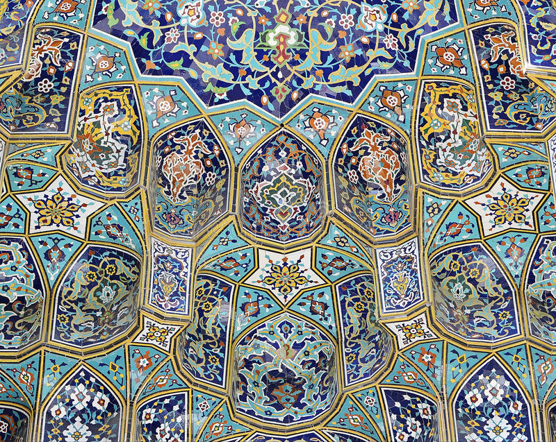 Download Mosque tiling stock image. Image of complex, persian - 30644027