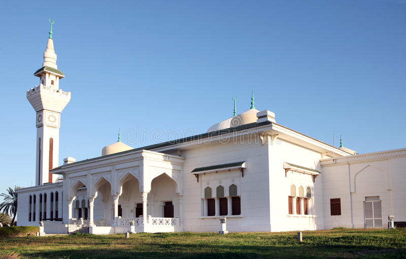 Mosque at Waqra in Qatar royalty free stock photo