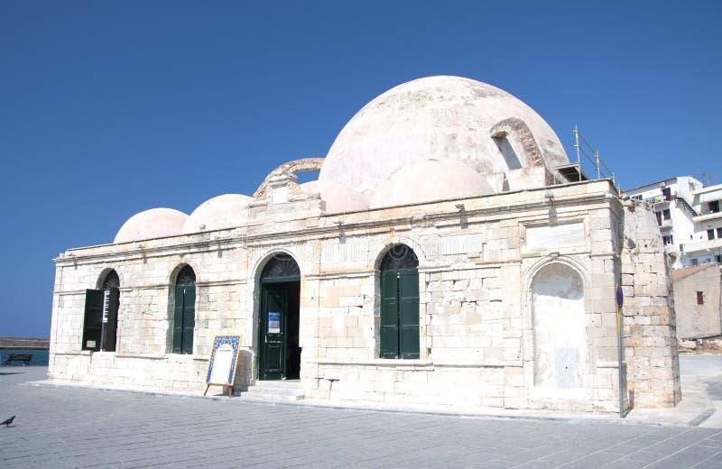 Mosque Yiali Tzami, Chania royalty free stock photos