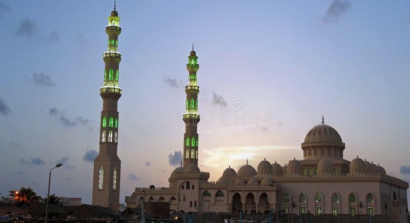 Mosquee en hurghada fotos de archivo