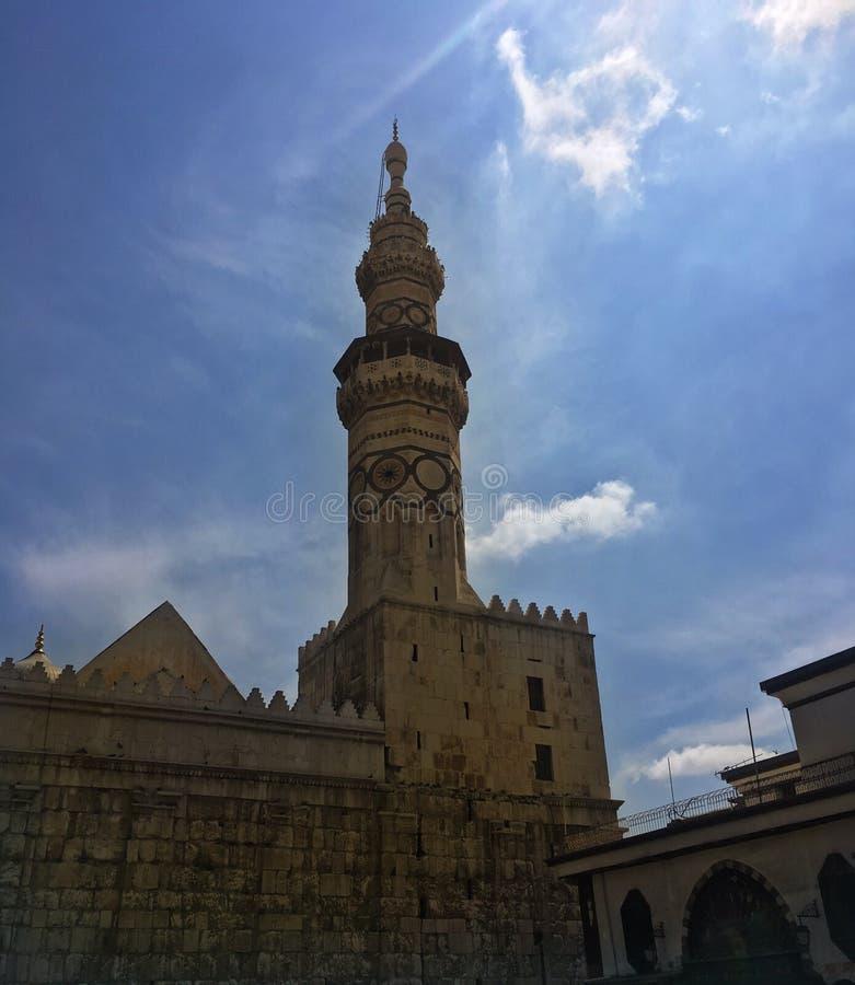 Mosquein старый Дамаск Ymayyad стоковая фотография