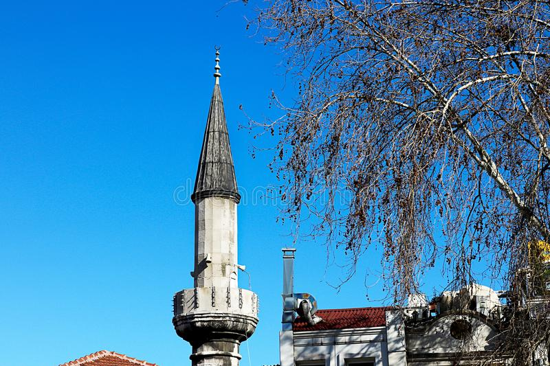Mosques and Blue Sky royalty free stock photos