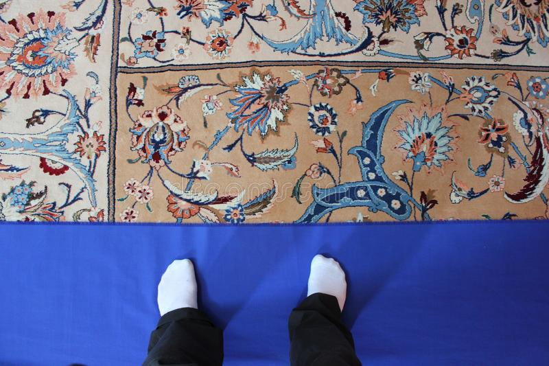Download Mosques' carpet stock photo. Image of stairs, geometrical - 43740284