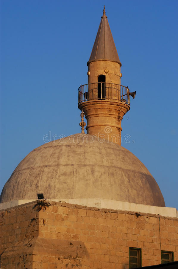 Mosques in Israel royalty free stock photography