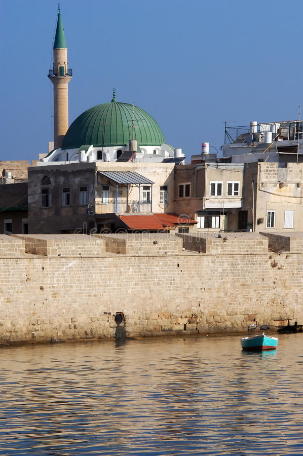Mosques in Israel stock images