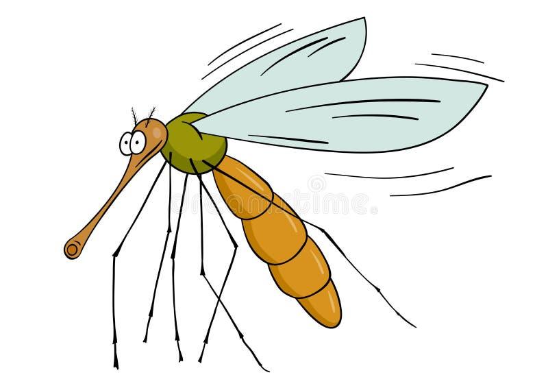Mosquito ilustración del vector