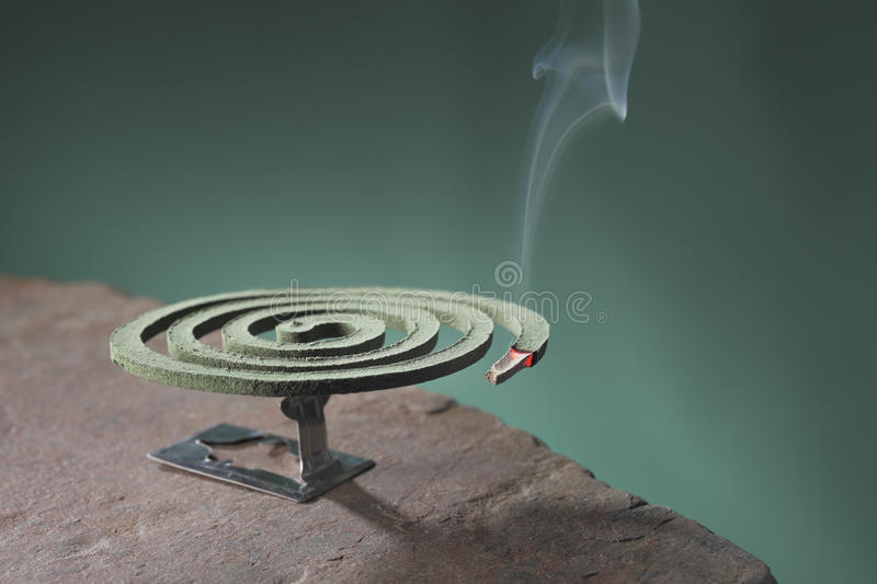 Download Mosquito coil stock image. Image of smoking, burning - 19556459
