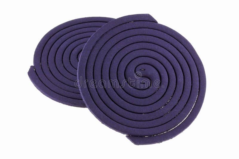 Mosquito Coils, Lavender Fragrance Stock Photo
