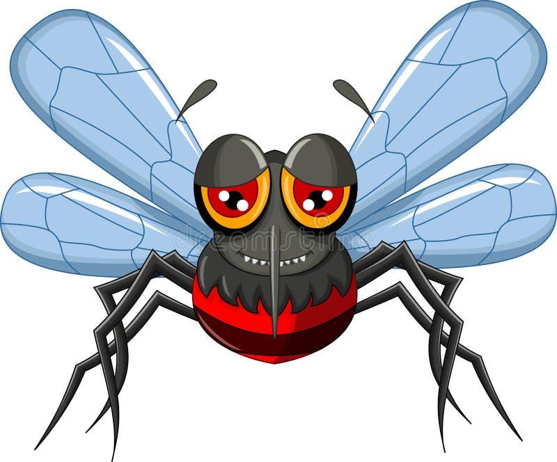 Mosquito lindo de la historieta libre illustration
