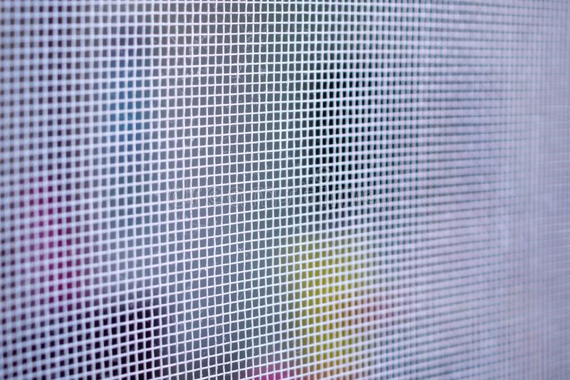 Mosquito net wire screen closeup on house window protection against insect. Mosquito net wire screen close up on house window protection against insect royalty free stock photos