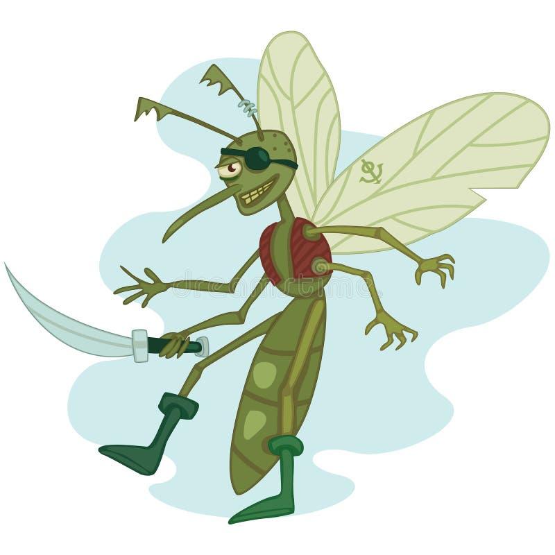 Mosquito o pirata imagem de stock