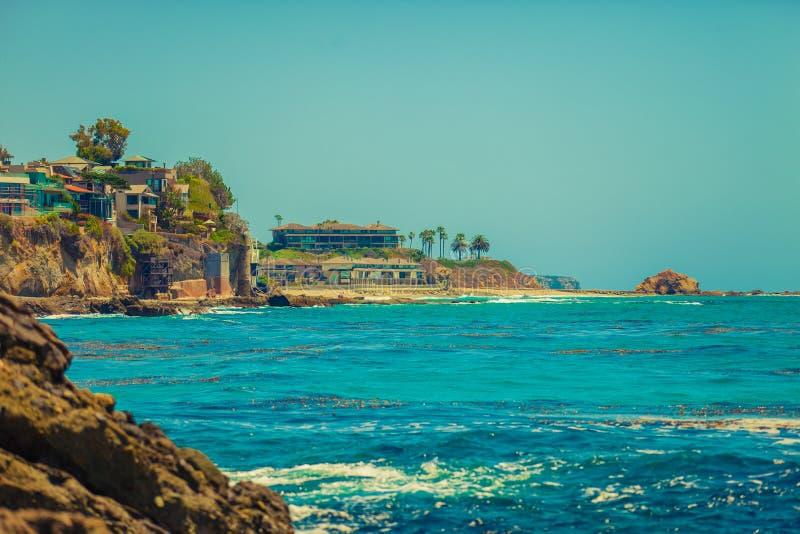 Moss Cove, Laguna Beach imagen de archivo libre de regalías