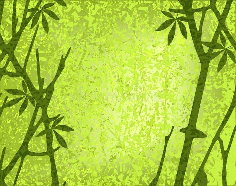 Moss forest stock illustration
