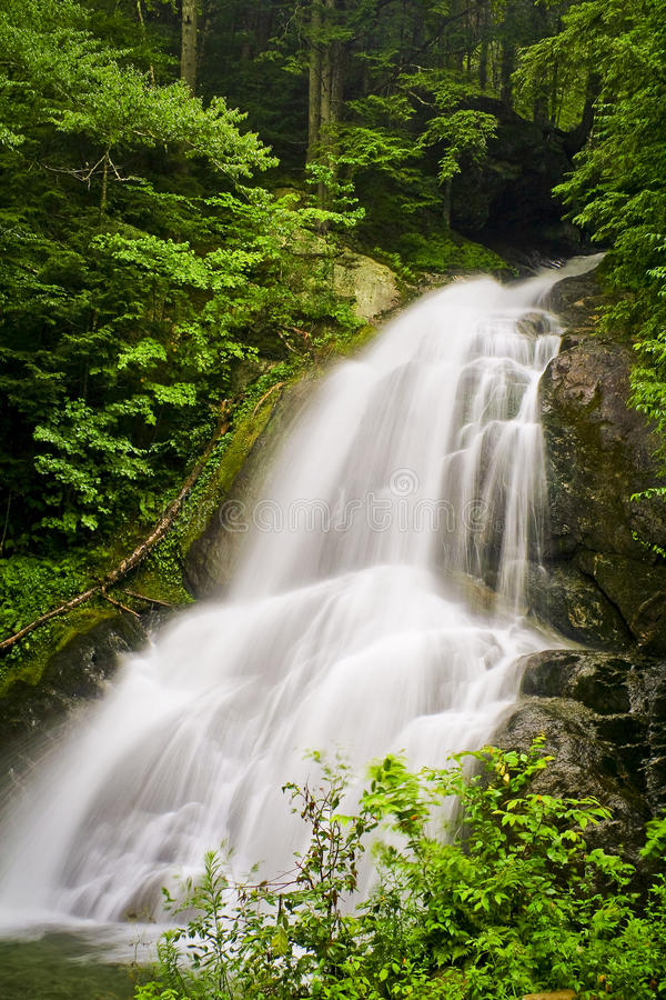 Download Moss Glen Falls stock image. Image of falls, landscape - 11357363