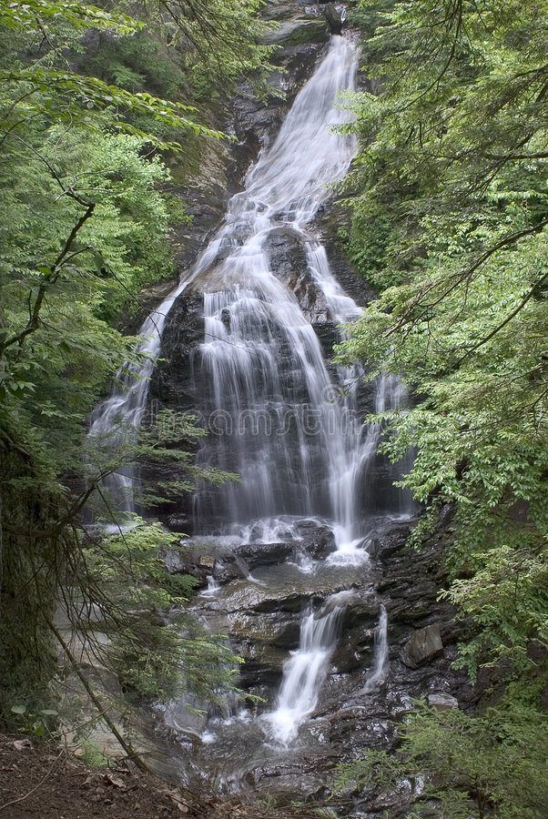 Download Moss Glen Falls stock image. Image of waterfall, rocks, england - 17007