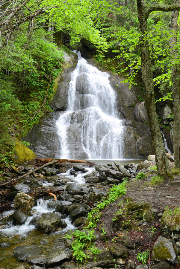 Moss Glen Falls, Vermont, Etats-Unis photos libres de droits