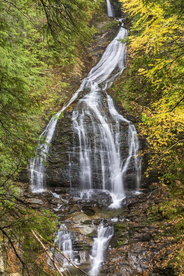 Moss Glen Falls Vignette fotografia stock libera da diritti