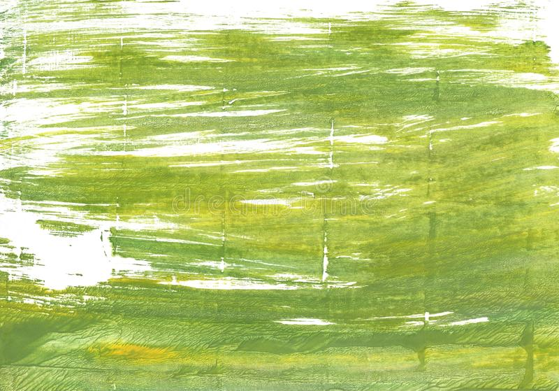 Moss green abstract watercolor background royalty free stock photos