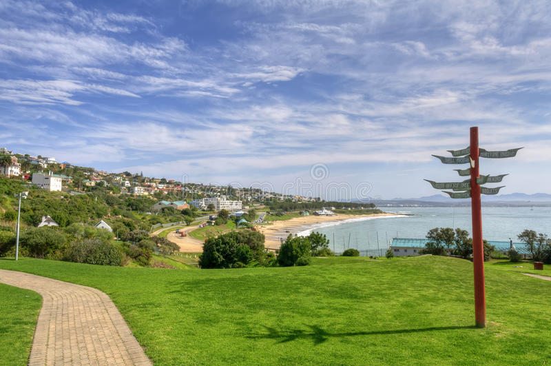 Mossel Bay, South Africa. Mossel Bay is a harbour town of about 130,000 people on the Southern Cape (or Garden Route) of South Africa. It is an important tourism royalty free stock image
