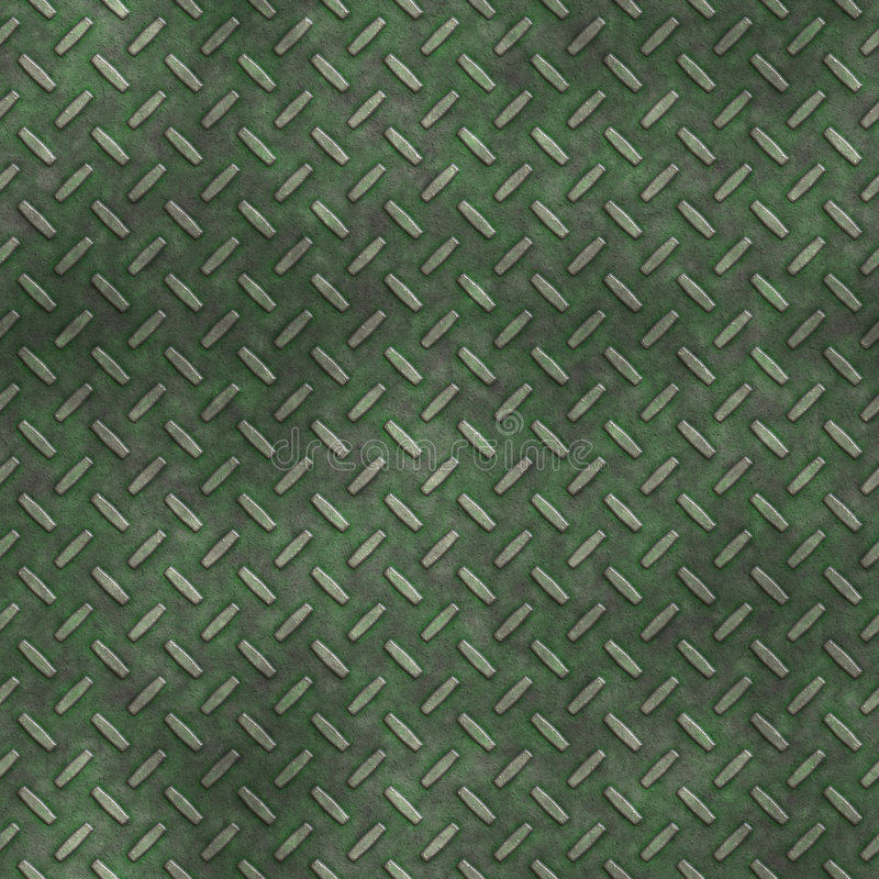 Mossy diamond stock image
