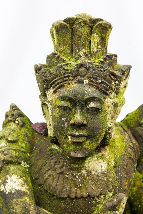 Free Mossy Stone Statue At Pura Ulun Danu Batur, Bali Stock Images - 14285314