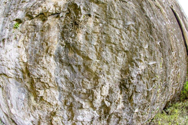 Mossy wall Devetakskoy caves in Bulgaria royalty free stock photos