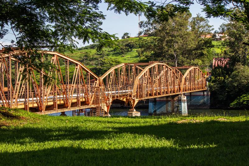 Most łuki zdjęcie royalty free