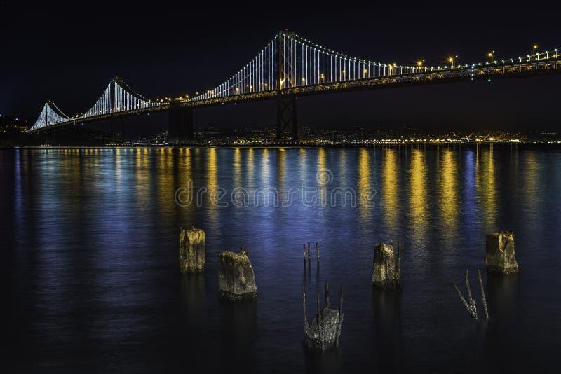 Most Bay w San Francisco fotografia royalty free