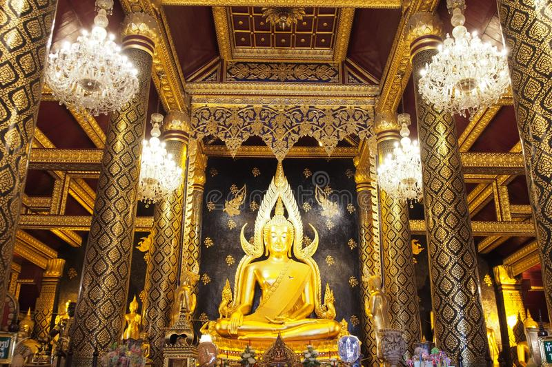 The most beautiful Buddha in Phisanulok,Thailand. The most beautiful Buddha image , ancient style in Phisanulok,Thailand.nLandmark of Phisanulok,Thailand stock images
