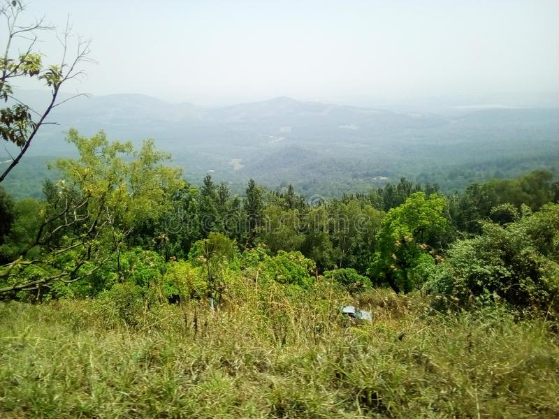 Most Beautiful View of Javagal Shariff stock images